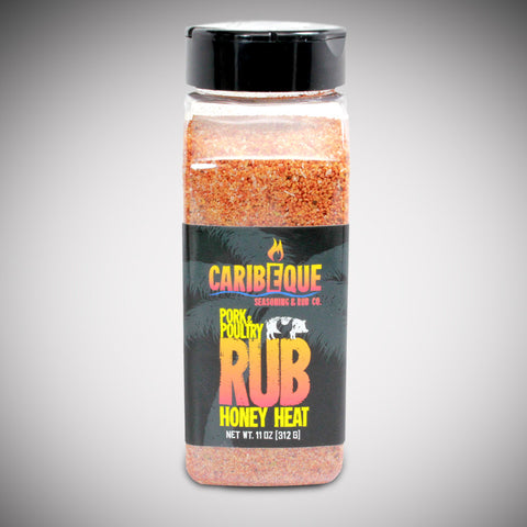 Honey Heat Pork & Poultry Rub (Case) - Best BBQ Seasoning & Rub Co.