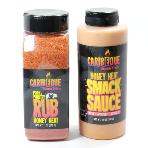Honey Heat Combo Pack - Best BBQ Seasoning & Rub Co.