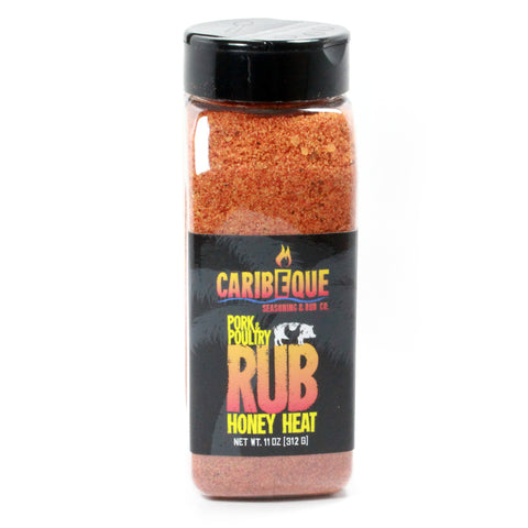 Honey Heat Pork & Poultry Rub - Best BBQ Seasoning & Rub Co.