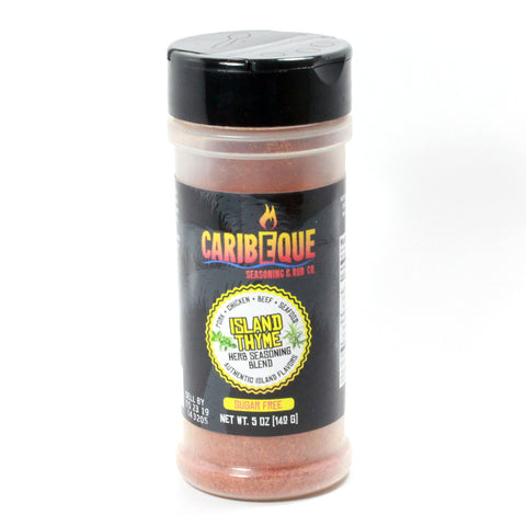 Island Thyme Herb Seasoning Blend (5 oz Shaker Bottle) - Best BBQ Seasoning & Rub Co.