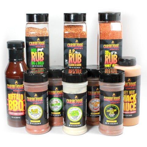Caribeque Mega Pack - Best BBQ Seasoning & Rub Co.