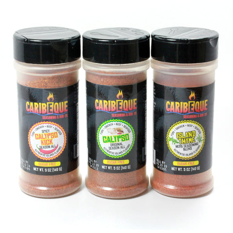 3 Seasoning Blend Variety Pack (5 oz Shaker Bottles) - Best BBQ Seasoning & Rub Co.