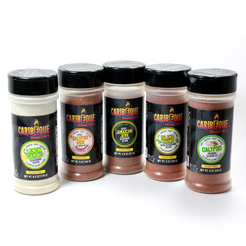 5 Seasoning Blend Variety Pack - Best BBQ Seasoning & Rub Co.