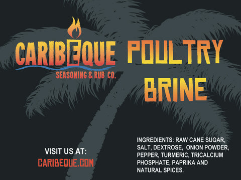 Caribeque Poultry Brine - Best BBQ Seasoning & Rub Co.