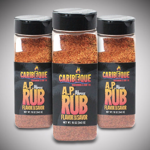All Purpose (A.P.) Rub - (3 pack) - Best BBQ Seasoning & Rub Co.