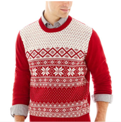 Men's Dockers Holiday Sweater