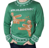 Men's Ninjabread Christmas Sweater