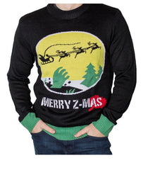 Men's Merry Z-Mas Zombie Hand Christmas Sweater