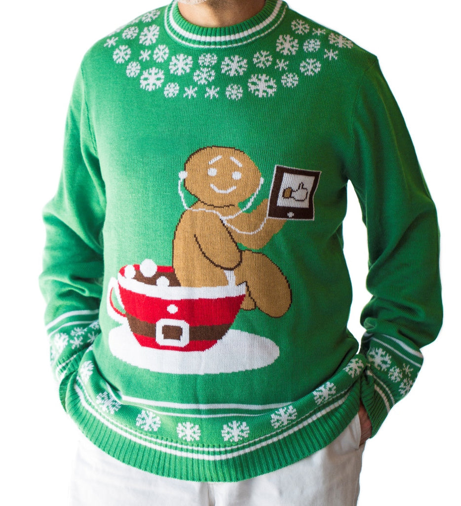 Men's Pottytime Christmas Sweater