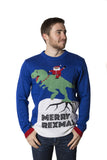 Men's Merry Rexmas Christmas Sweater