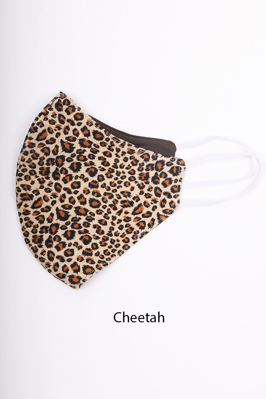 Riley Tie Cheetah | Matching Mask Option
