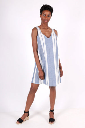 Latitude Dress | Sail Stripe