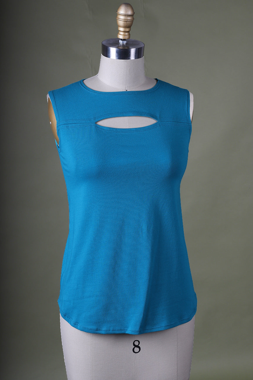 Giselle Top | Teal Sample