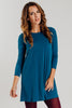 Lea Swing Dress | Teal