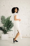 Della Reversible Dress | Ivory