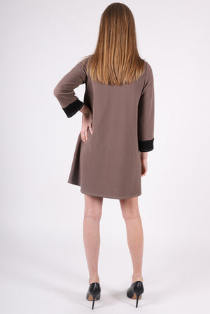 Diana Dress | Taupe