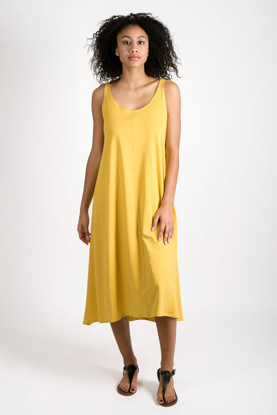 Tranquil Tank Dress | Saffron