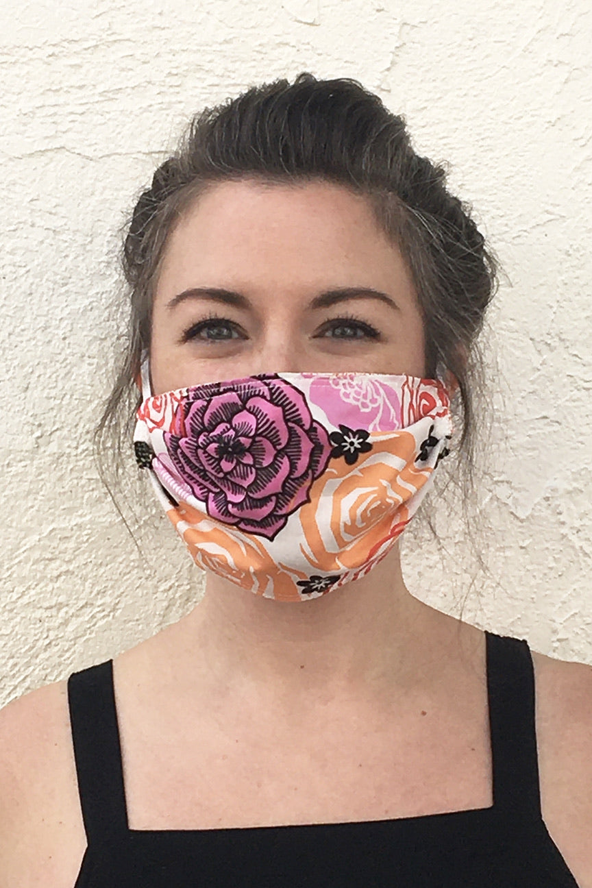 Pleated Face Mask | Buy 1 Donate 1 | Florals and Such