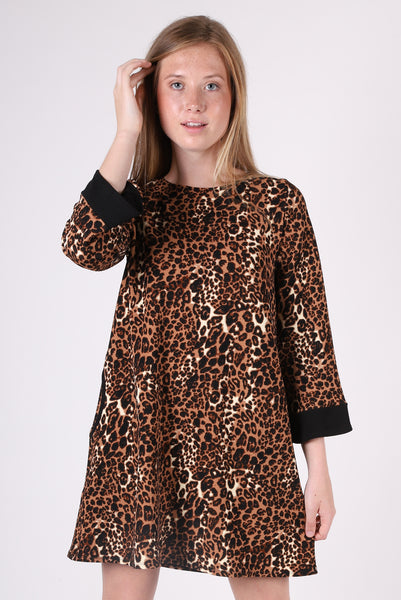 Diana Dress | Cheetah