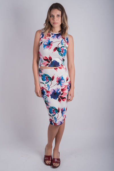 Morgan Pencil Skirt | Wild Floral
