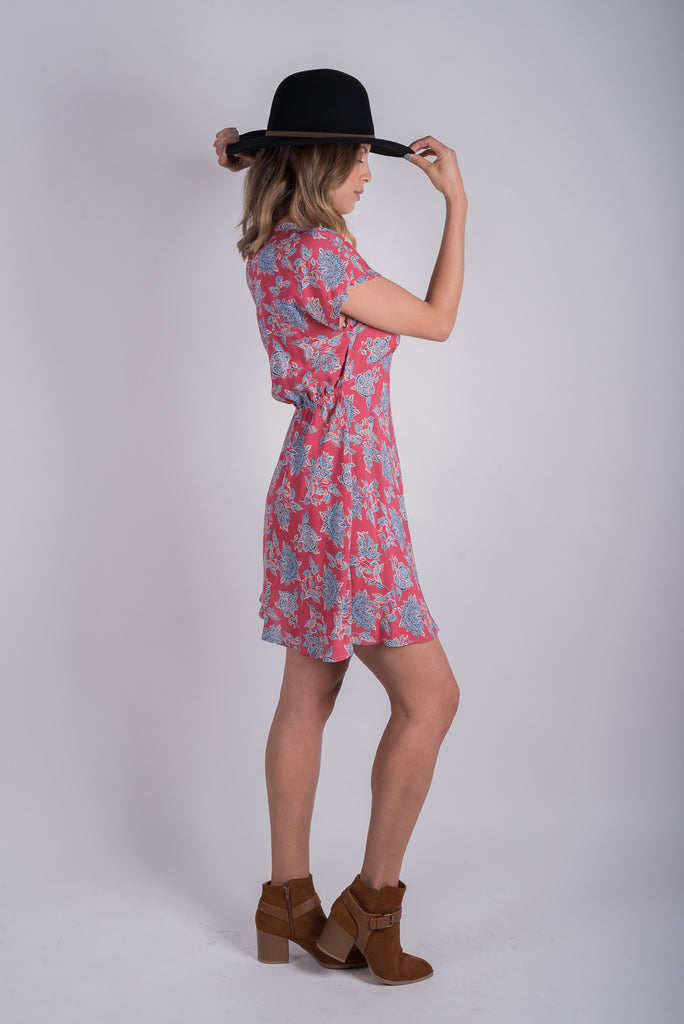 Williams Empire Dress | Pink Sands Paisley