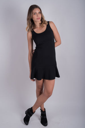 Flutter-by Dress | Black
