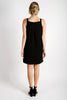 Sadie Square Neck Dress | Black