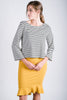 Bell Sleeve Boxy Top