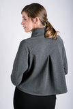 Shawl Collar Sweatshirt