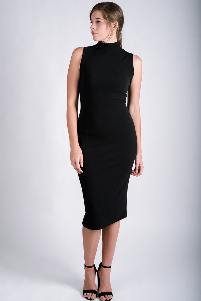 Caravan Tube Dress | Black