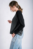 X-Back Raglan Sweatshirt