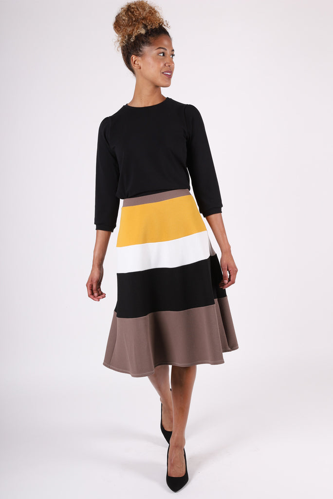 City Circle Skirt | Ochre