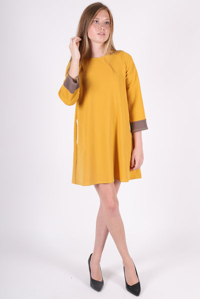 Diana Dress | Ochre