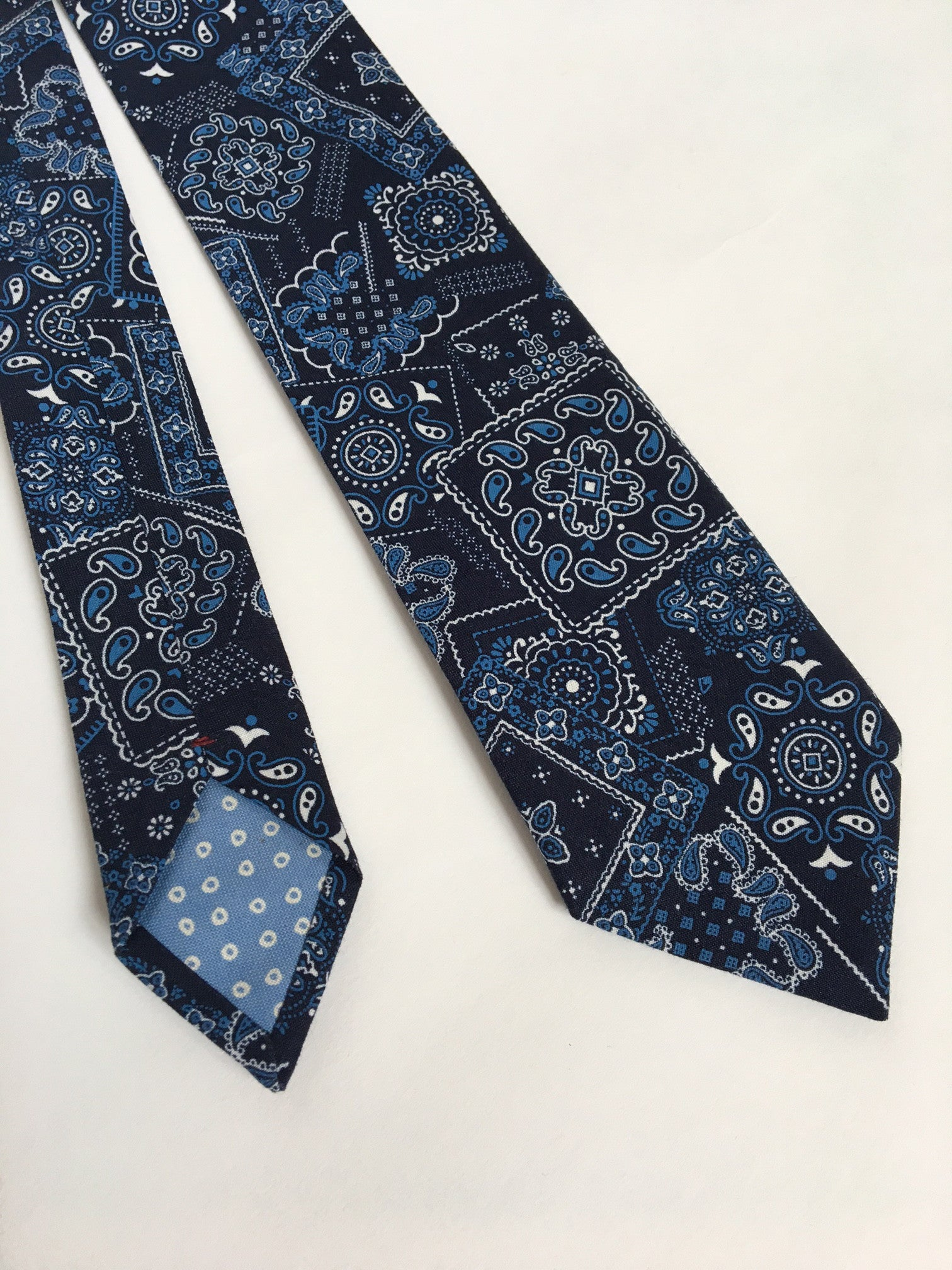Patchwork Paisley Riley Tie
