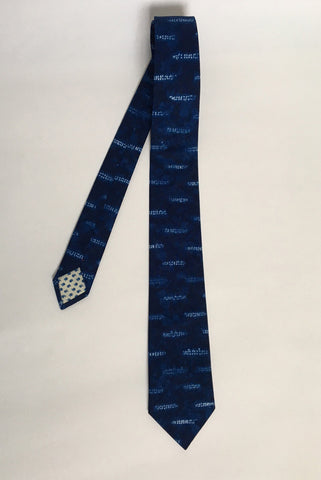 Shibori Cotton Riley Tie