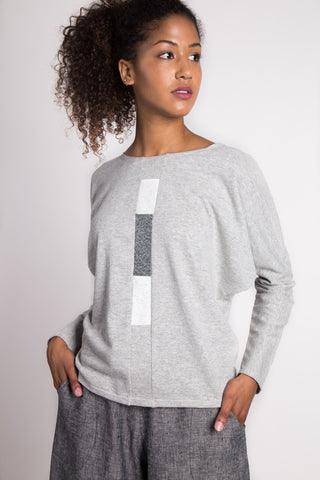 Squared Away Dolmain | Heather Grey