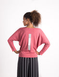 Squared Away Dolman | Rose