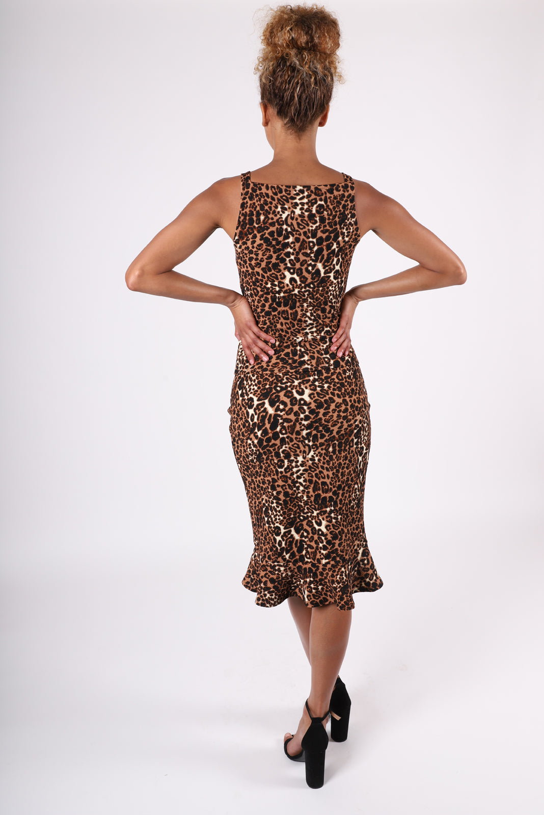 Eva Flutter Skirt | Cheetah