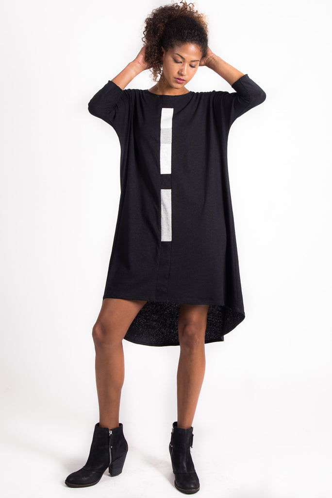 Highs and Lows Dress | Black