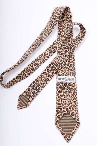 Riley Tie | Cheetah
