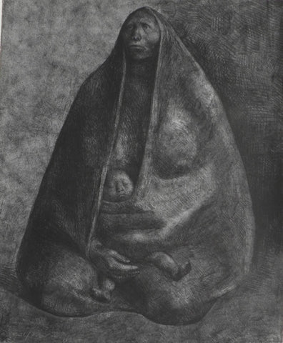 "Francisco Zúñiga - ""Woman with Child"""