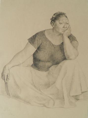 "Francisco Zúñiga - ""Woman Seated"""