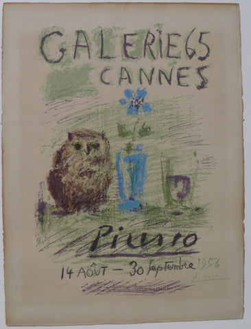 "Pablo Picasso - ""Galerie 65 Cannes''"