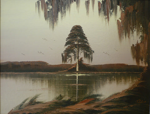 James Gibson - ''Cypress Tree In The Glades''