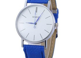 Blue Geneva Unisex Watch