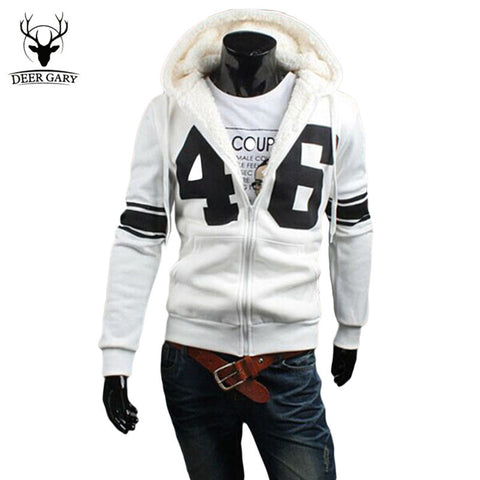 2016 Spring Autumn Men Slim Fit Hooded Fleece Hoodies Fashion Digital pattern Hoody Jacket Male Sweatshirt Tracksuit