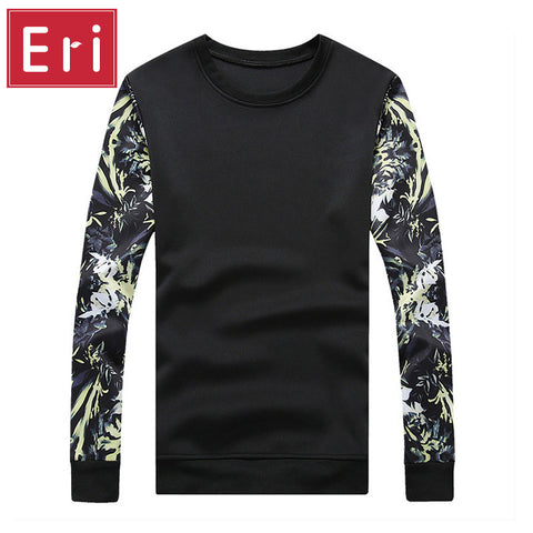 100% Cotton Printing Hoodies Men Brand Tracksuit Space Cotton Slim Fit .