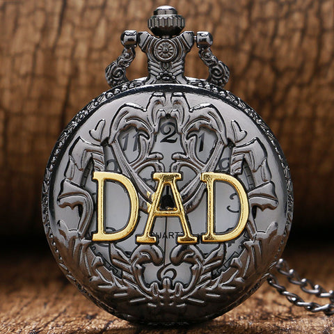 2017 New Arrival Fashion Dad Pocket Watch for Father Dady Father's Day Gift P359