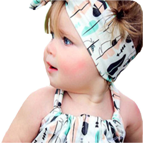 0-2 years old  Girl Head Accessories Hairband hairpins  Elastic Bowknot Headwear Gum for Hair #LSN