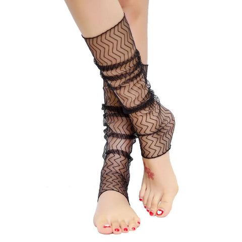 1 Pair Lace Gloves Or Leg Socks 2017 Summer Hot Sale Women's Fashion Anti-UV Hollow Out 52cm Sexy Socks